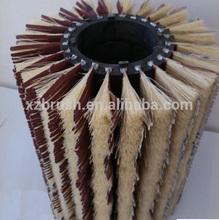 sisal sander paper roller polishing brush