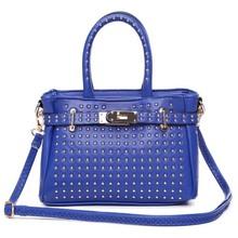 BV3095 Factory outlets 2014 new Korean woman shoulder bag handbag messenger bag female models rivet women bags