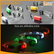 Hot sale cat collar lights TZ-PET9000 cat collar led