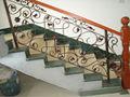 metal de hierro forjado escaleras de interior