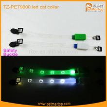 Hot sale cat collar lights TZ-PET9000 flashing led cat collar