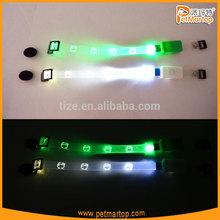 Hot sale flashing led cat collar TZ-PET9000 safety led cat collar