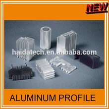 aluminum extrusion profile cooling fin radiator