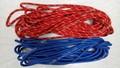Promo la producción a granel de la cuerda de rapel, venta al por mayor de escalada en roca de la cuerda