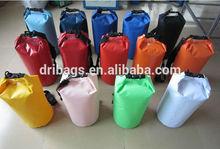 new design waterproof dry pvc tarpaulin bag 20l for camping