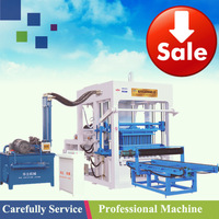 Hydraulic Pressure Method and Yes Automatic foam concrete block making machine QT4-15B
