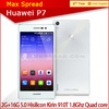 with english box Huawei P7 New Arrivals Ascend P7 5'' quad core dual 13.0 pixels china brand mobile phone original