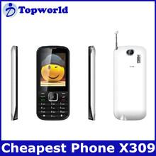 "OEM bar phone X309 spread 6531D 2.8"" QVGA Dual SIM 0.08M Pixel back camera1900\1800 \850\900"