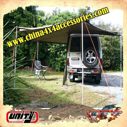4x4 aksesuarları çadır römork tente/araba foxwing tente