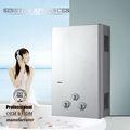 Jsd12-dy05 bajo precio de venta caliente calentador de agua de gas / gas del géiser de la