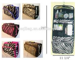Cosmetic Organizer Roll Up Bag Travel Makeup Organizer Bag Case