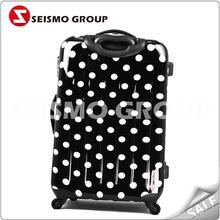 pu luggage trolley bag luggage tag with insert