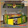 Convenient mobile crepe cart cake cart design are best seller