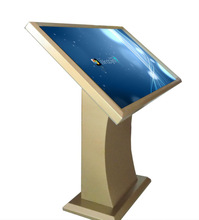 32 inch lcd full HD interactive touch monitor advertising kiosk with all in one PC