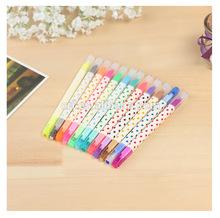 Erasable highlighter,erasable fluorescent pen,2014 world cup brizal promote item erasable fluorescent marker pen