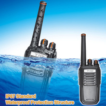TD-V90 IP67 handheld transceiver walkie talkie with power on password protection