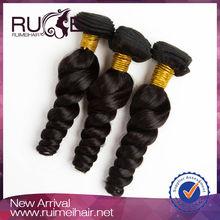 Ruimei unprocessed virgin remy 100% human hair beijing hair
