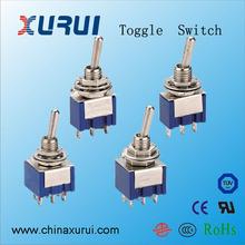 on off 2-way 12v toggle switch / mini toggle switch 3a 250v ac / miniature momentary toggle switch