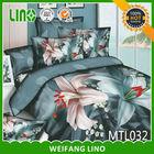 wholesale new 3d bed cover/3d printed cotton pillow case/flower design bed sheet 3d