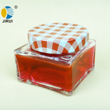 120g Square Wide Mouth Glass Cream Jar