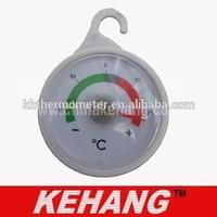China manufacturer portable round thermometer for fridge,fridge freezer thermometer