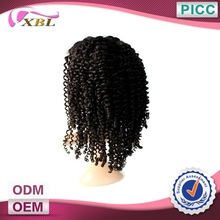 XBL New Arrival Top Quality Virgin Curly Afro Wigs For Black Women