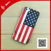 3d sublimation phone case for iphone 4/iphone 5 in polymer material MOQ 20pcs