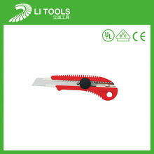 2014 new industrial safety retractable pocket utility knife