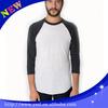 wholesale pima cotton 3/4 sleeve t shirt personalized