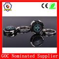 Nueva llegada modificado para requisitos particulares del reloj del metal llavero / brújula / niza sostenedor de la llave ( HH - clave chain-588-1 )