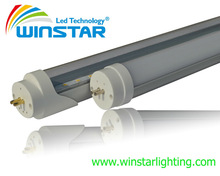 top sale competitive price!!!high CRI>80Ra transparent frost 1200mm t8 tube led