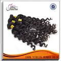 Puede teñir cualquier color 3 unids/lote malasio de la virgen del pelo recto natural