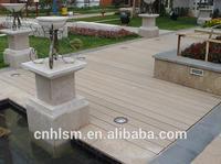 150*25mm fireproof lumber balcony waterproof outdoor floor covering floor outdoor drain cover