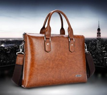 New arrival classical high-quality genuine leather handbag & Laptop messenger bag