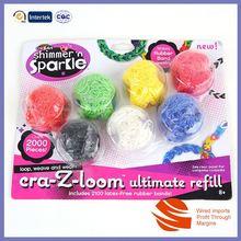 Latest Popular Design Custom rubber band bracelet craft
