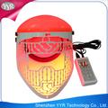yyr 2014 venta caliente rejuvention piel tratamiento del acné pdt máscara facial máscara de led