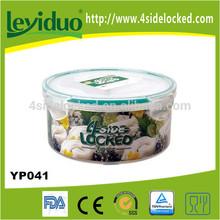 bpa ücretsiz plastik yoğurt kabı sıkı kapaklı