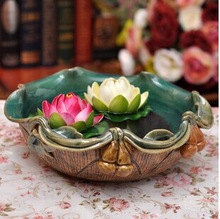 2014 SJ AF100 Wholesale artificial lotus flower for hotel decortive fake foam lotus water lily artificial floating lotus flower