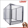 Hot sale large black welded wire mesh pet kennel box cage(factory)