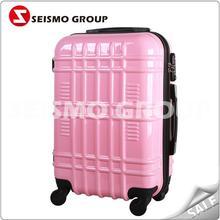 new design bag luggage bag abs+pc animal school trolley luggage