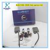 new product h4 hi/lo hb2 h4-3 bi-xenon hid xenon complete kit bixenon bulbs