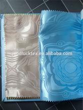polyester tecidos jacquard fabrics for home textile