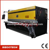 SIECCTECH QC12Y-4X2500 Hydraulic sheet metal cutting and bending machine, hydraulic cutting machine, manual sheet metal cutting