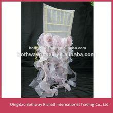 Wedding Chair Cover And Organza Sash