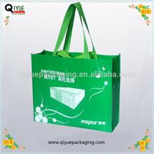 silk printing non woven shopping bag