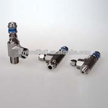 CNG compressor parts safety valve,stainless steel spring loaded safety valve