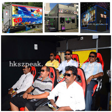 Negócio quente! Cinema 5d 7d 9d móveis para casa 7d crianças jogo simulator com gabinete e design casa