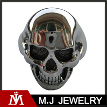 Fashion Jewelry wholesale stainless steel skull Polishing ring