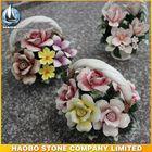 Haobo Stone Cemetery Colorful Ceramic Accessory Basket