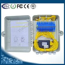 FTTx Waterproof Telecom Wall Mount Fiber Optic Distribution Box